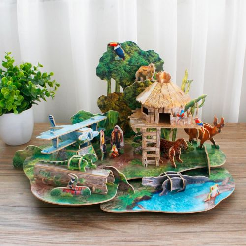 frank_cubic_fun_national_geographic_-amazon_rain_forest_3d_puzzle_4