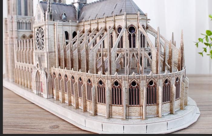 Cubicfun-3D-Puzzle-Toys-MC260h-Notre-Dame-de-Paris-3D-Paper-Puzzle-Church-Scale-Model-13
