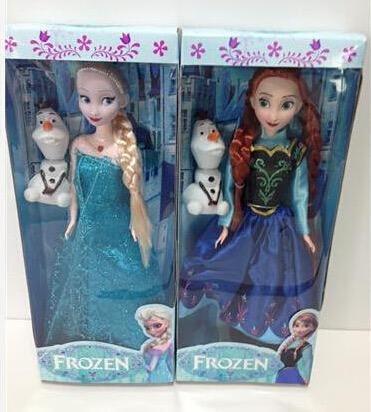 Elsa,anna Doll